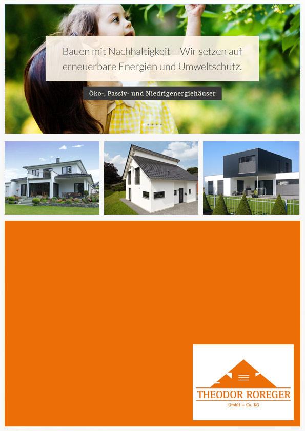 Katalog Theodor Roreger Holzbau