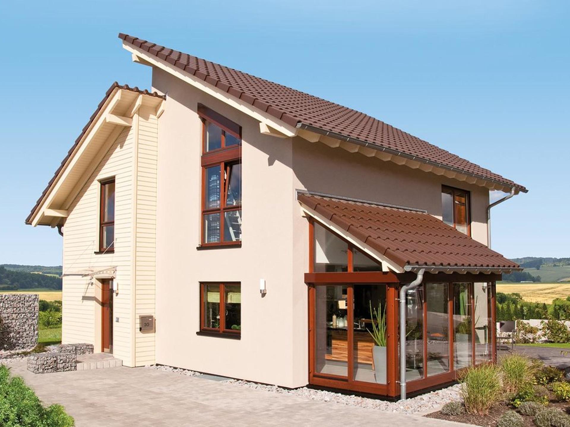 Aussenansicht Haus Ventur 100 von Fingerhaus GmbH